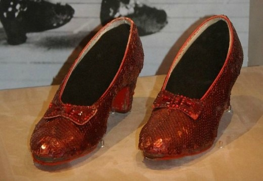 Dorothy's Red Ruby Shoes