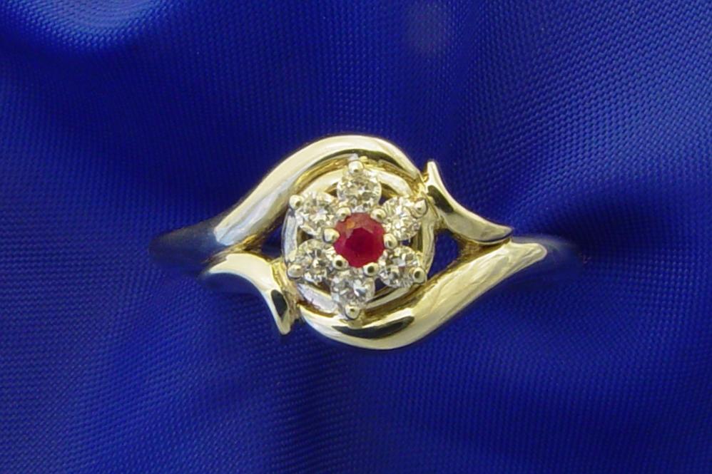 Ruby Birthstone Rings - Birth Stone Magic
