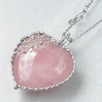 Rose Quartz Birthstone Jewelry – January's Alternate Birthstone
