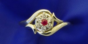 Ruby Birthstone Rings