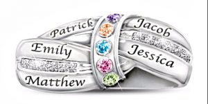 A Mother Day's Birthstone Ring will be a Cherished Gift