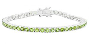 Birthstone tennis bracelets: Chris Evert's Gift to Jewelry Lovers
